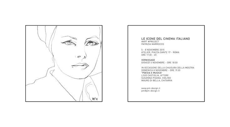 Le icone del cinema italiano  #art #project