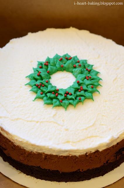 i heart baking!: christmas triple chocolate mousse cake