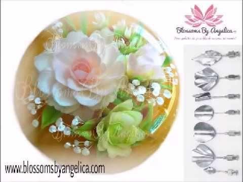 Demo de Flores 3D Encapsuladas en Gelatina con Luz Magana (Luz's Artistic Creations) - YouTube