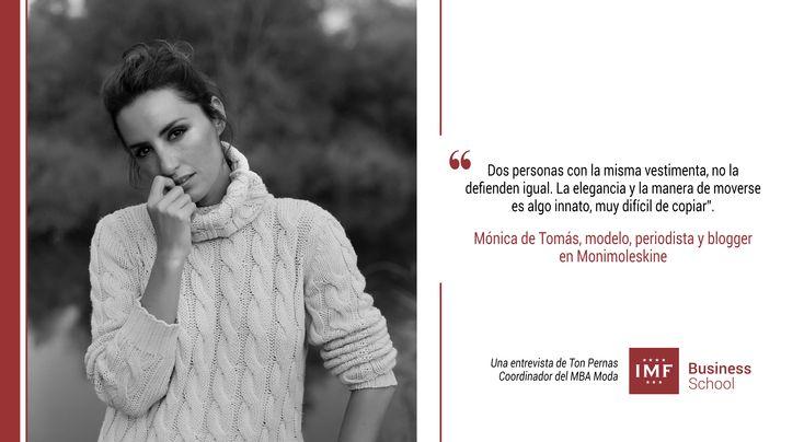 Ton Pernas, nuestro Coordinador del Master MBA en Moda, nos acerca aMónica de Tomás y las facetas que la hacen tan reconocida en España.