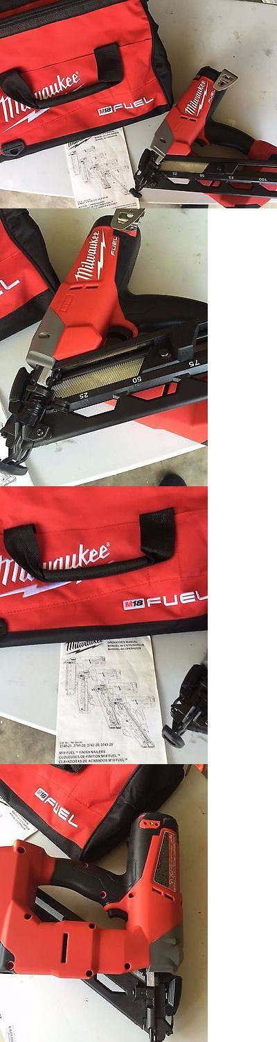 Nail and Staple Guns 122828: Brand New Milwaukee M18 Fuel 15Ga Finish Nailer 2743-20 Tool Only New Open Box -> BUY IT NOW ONLY: $274.99 on eBay!
