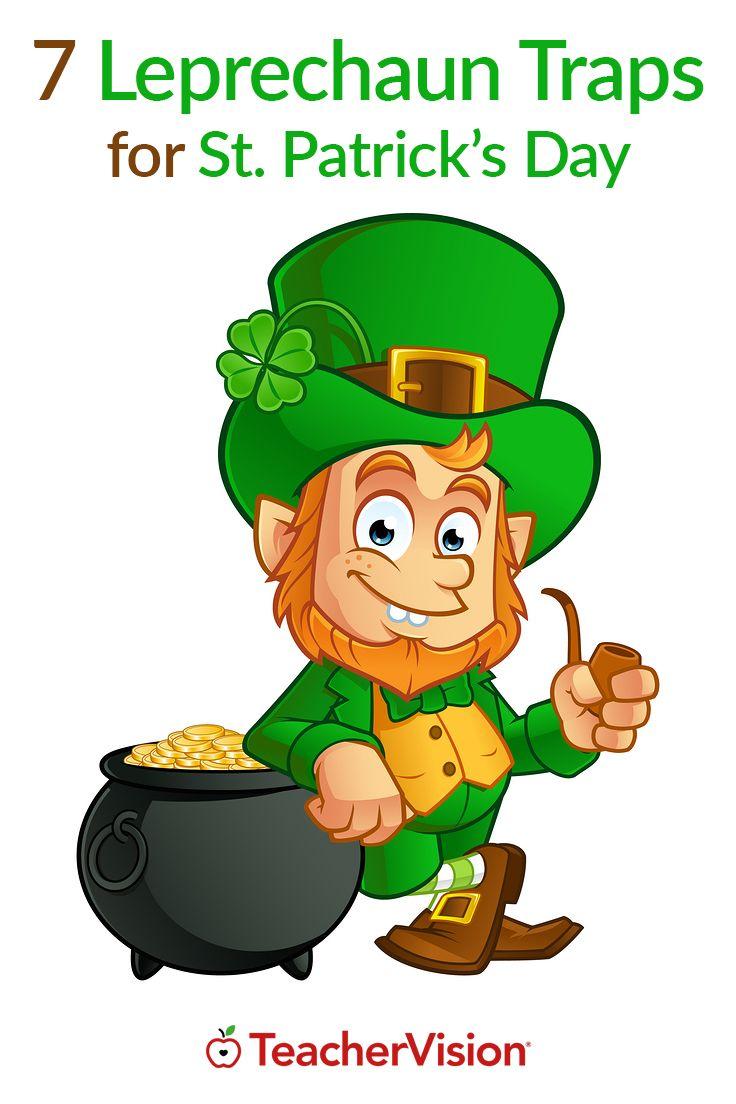 7 Leprechaun Traps to make for St. Patrick's Day!