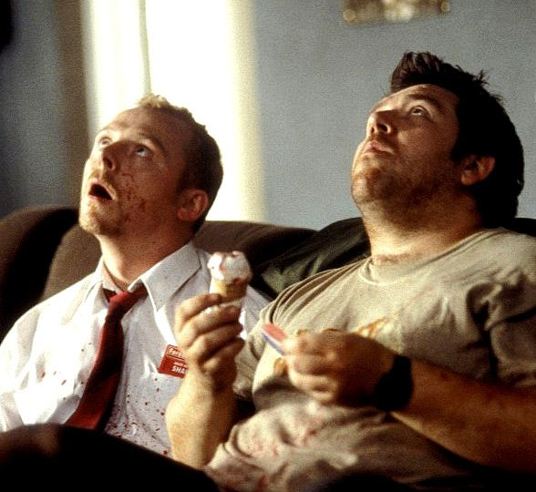 simon pegg essay on zombies Nicotero would actually go on to work with wright and pegg in romero's land of  the dead,  in my opinion shaun of the dead did more for the zombie genre than  any other film in the last  thank the maker for edgar, simon and nick  first- person essays, features, interviews and q&as about life today.