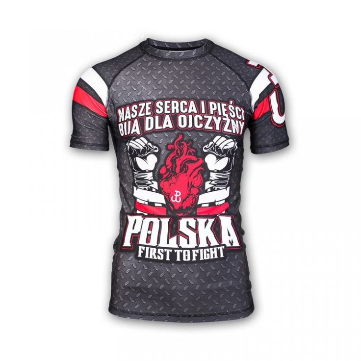 RASHGUARD PROPATRIAE FIRST TO FIGHT L