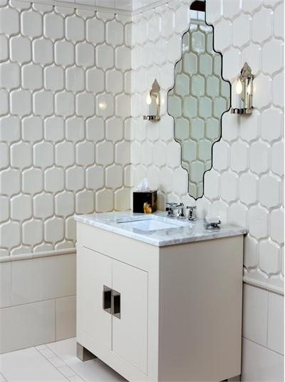 Fantastic  BathroomTilesDesignsWithHighlighters47InSmallHomeRemodel