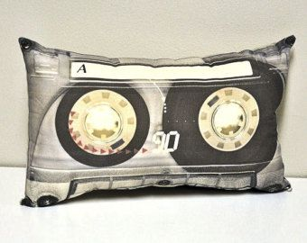 Cassette Tape 80s Theme Party Cupcake Wrappers by PrettySweetParty