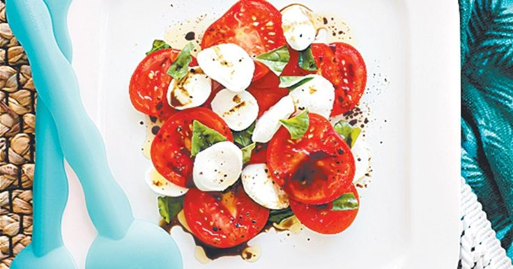 This traditional Italian summer salad originates from the Isle of Capri in the Gulf of Naples, Italy. Caprese literally means from Capri.