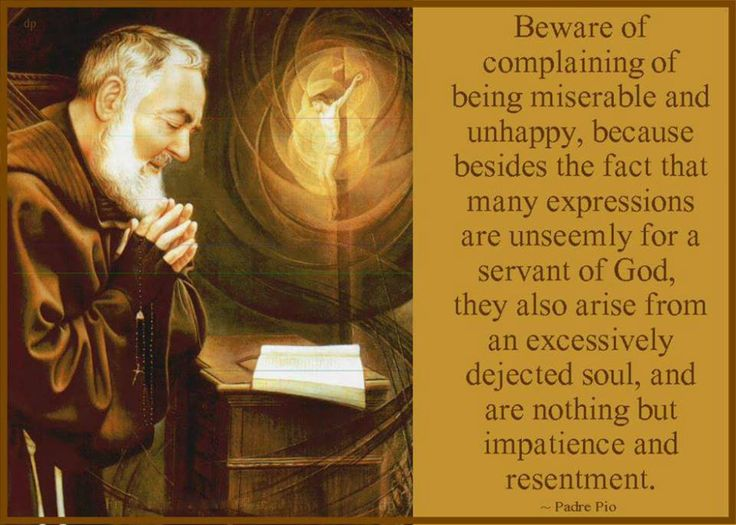 """Make a particular effort to practice sweetness and submission to the will of God, not only in extraordinary matters, but even in the little things that occur daily. Make these acts with a tranquil and joyful spirit. And if you should fail in this, humble yourself, make a new proposition, get up, and continue on your way."""" -Padre Pio"""