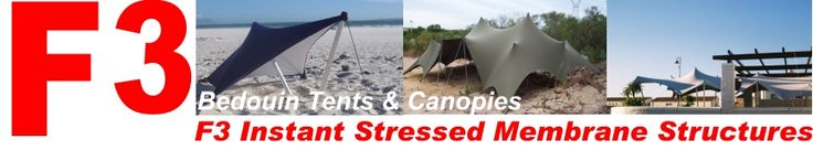 F3 Bedouin Stretch Marquee Tents, canopies, tarpaulins and awnings