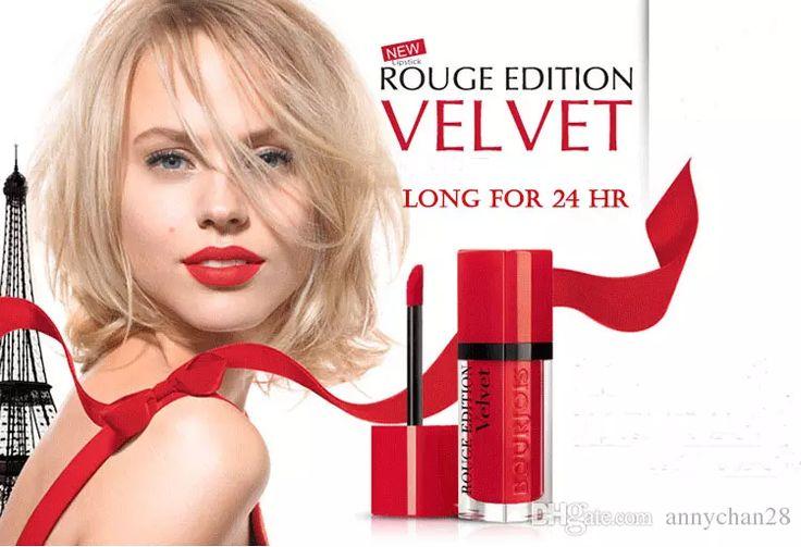 20% Off Hot Rouge Edition Velvet Best Lip Gloss Matte Liquid Lipstick Paris Hot Pepper Frambourjoise Nudist Pink Makeup Lip Balm Online Cosmetics Lakme Lip Gloss From Annychan28, $1.76| Dhgate.Com
