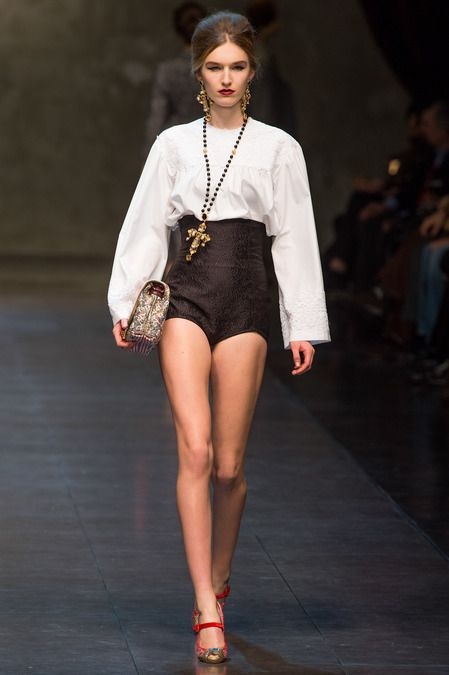 6inchheelsaretooshort:  Dolce  Gabbana Ready To Wear Fall 2013
