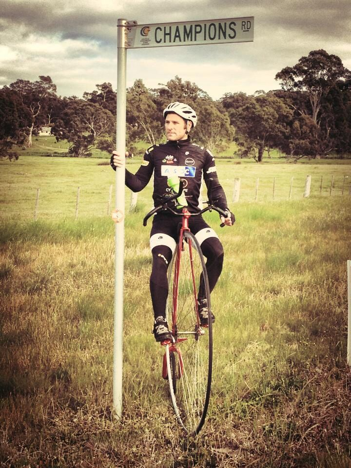 Long distance rides on a Penny Farthing are indescribable fun.