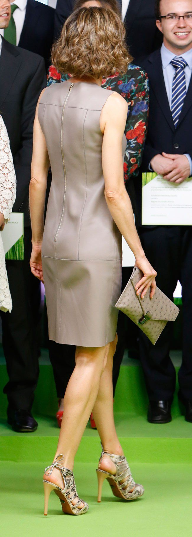Queen Letizia of Spain delivers Iberdrola Foundation scholarships at casa de America on July 9, 2015 in Madrid, Spain.