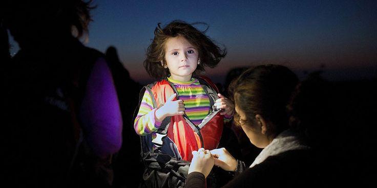 La rivista Time ha scelto il fotogiornalista greco Angelos Tzortzinis, per il «sincero lavoro con cui ha documentato» la crisi economica della Grecia e quella dei migranti