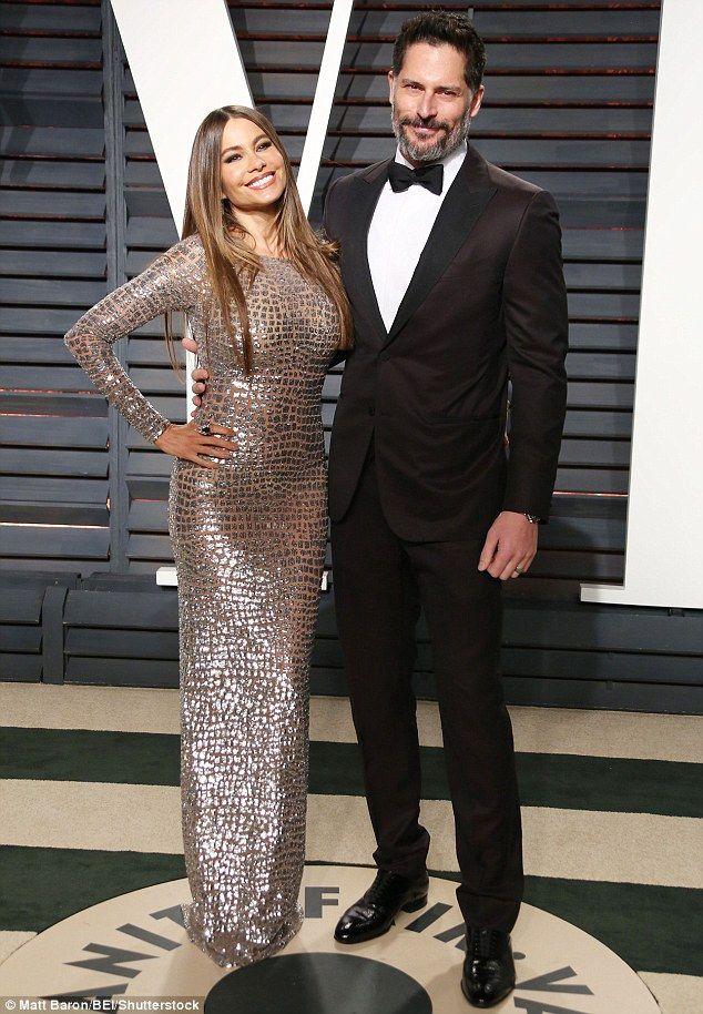 Power couple!Sofia Vergara attended the 2017 Vanity Fair Oscar Party in Beverly Hills with husband Joe Manganiello