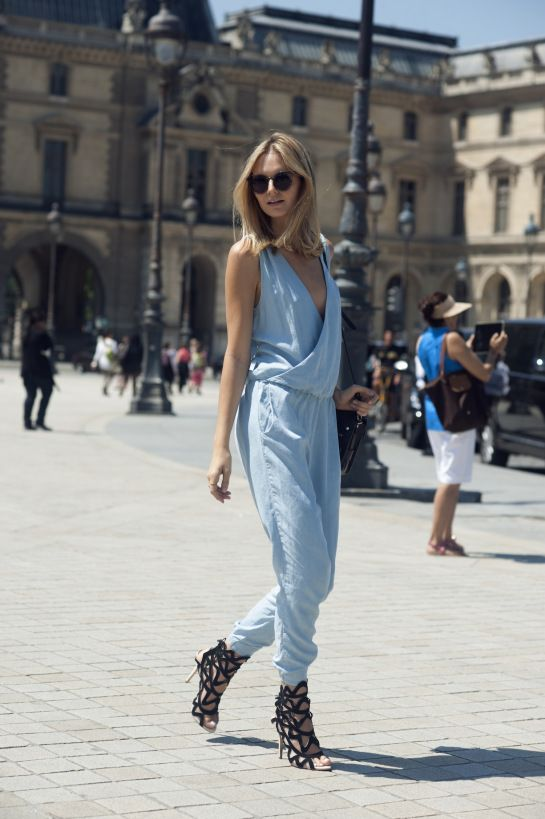 baby blue jumpsuit and great bootx