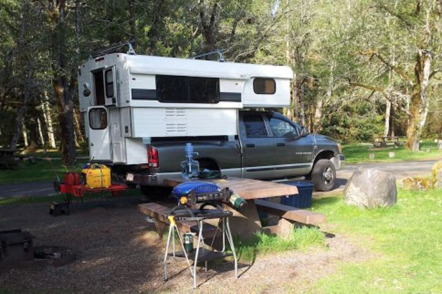 Now empty nesters, Dave and Nancy Carvalho sold their fifth wheel and drove cross-country to pick-up their Alaskan Camper, the perfect camper for them.