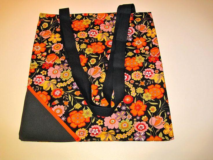 Naaistaart: opvouwbare tas (voor mama)
