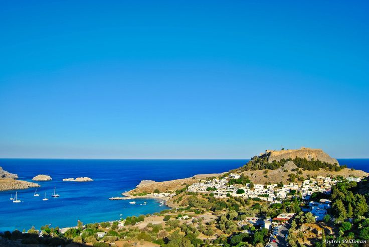 Lindos, Rhodes Is. by Andrei Cristian Beldiman