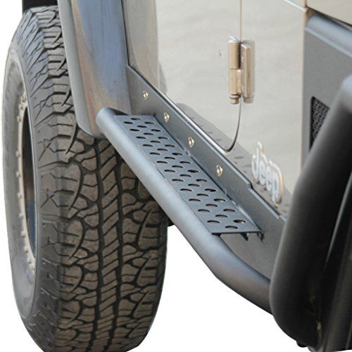 E-Autogrilles 51-0040 Heavy Duty Armor Rock Slider Rocker Guard...