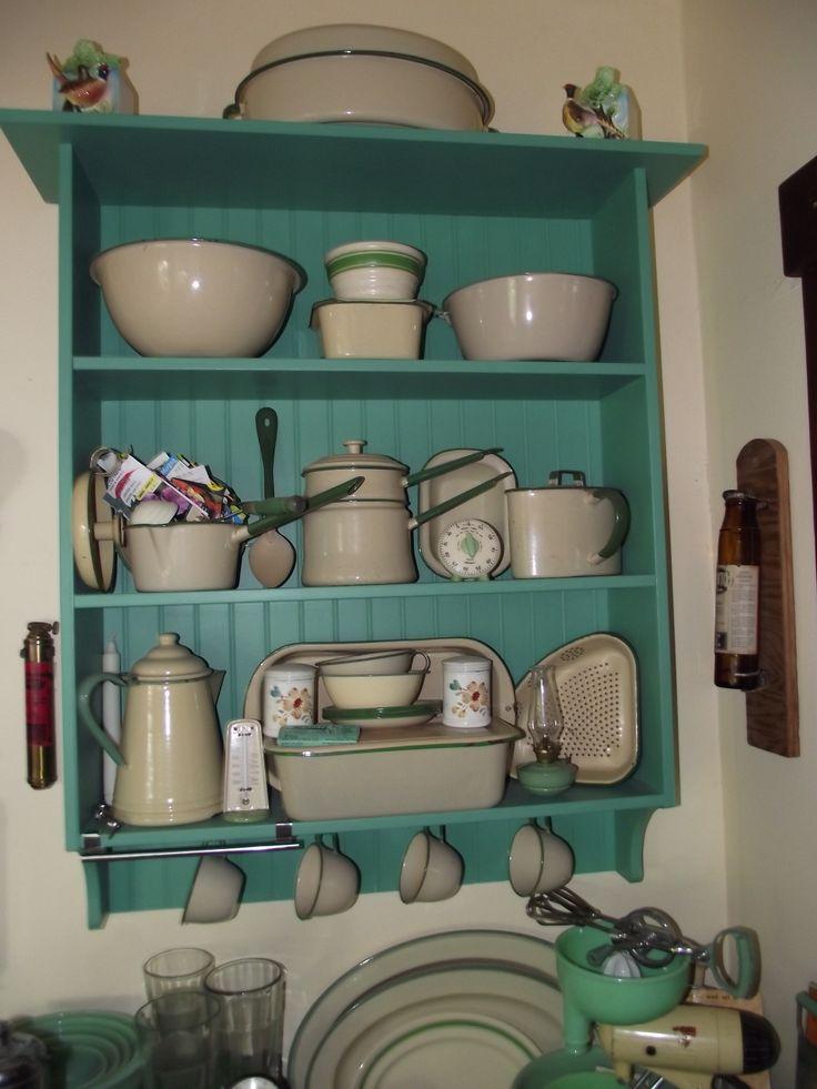 Vintage Country Kitchen Green 541 best vintage enamel images on pinterest   vintage enamelware