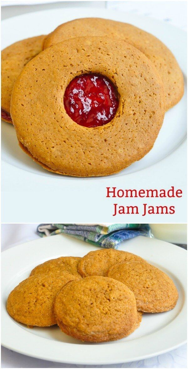 Jam Jams from Purity Factories are a Newfoundland institution. Here's a recipe for my homemade version of this local molasses and jam cookie classic.