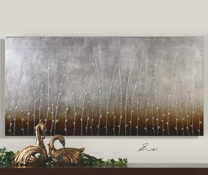 Uttermost sterling branches canvas wall art by eve x 34202
