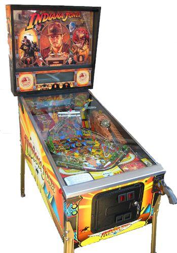 Indiana Jones Pinball Adventure pinball machine / Made in 1993 by Williams...My dream pinball machine, which I will own someday!!!