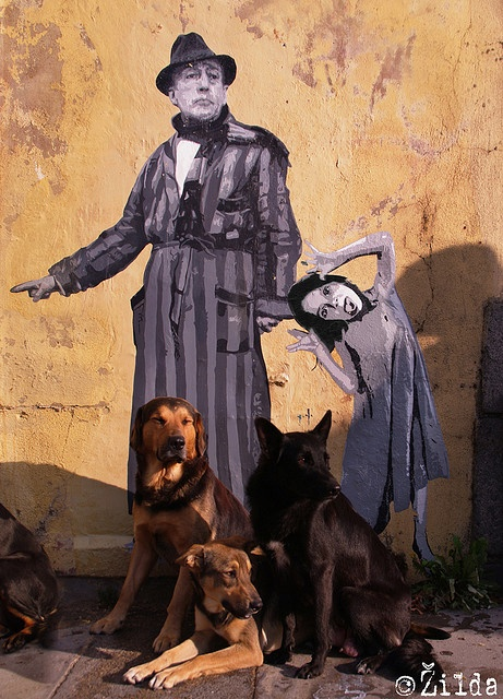 Ender vs Žilda - Rennes by . Žilda: Dogs Kids, Street Artists, Urbanart Graffitiart, Artists Zilda, Streetart Graffiti, Amazing Streetart, Streetart Urbanart, Graffitiart Wallmur, Graffiti Street