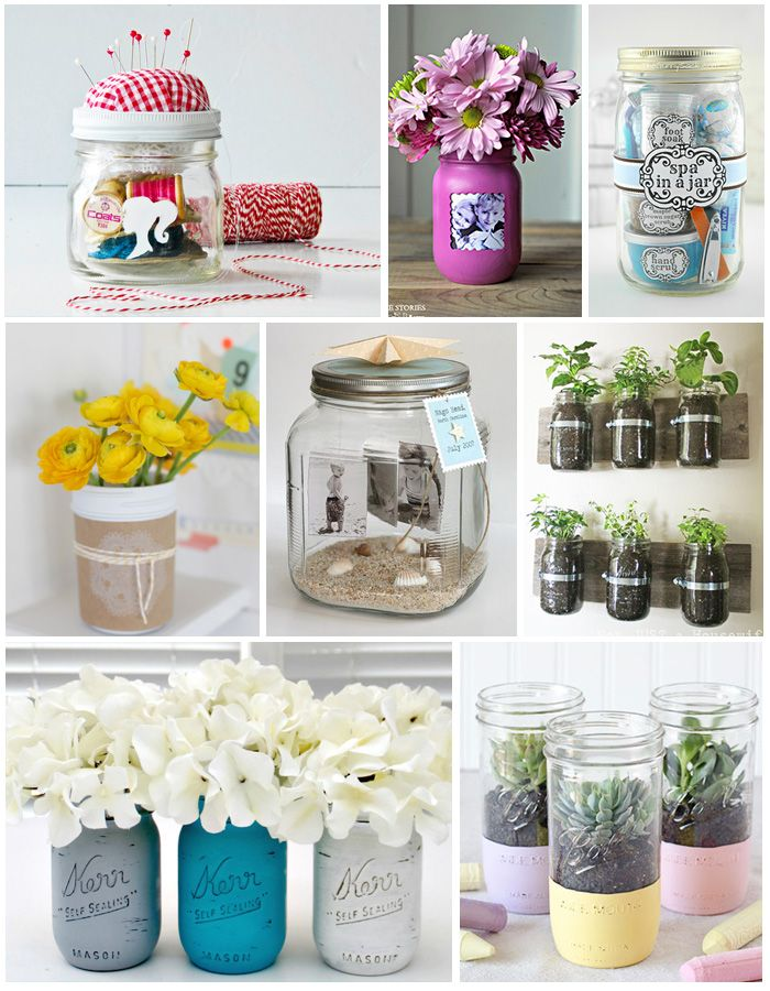 Easy DIY gifts for Mom in a jar.
