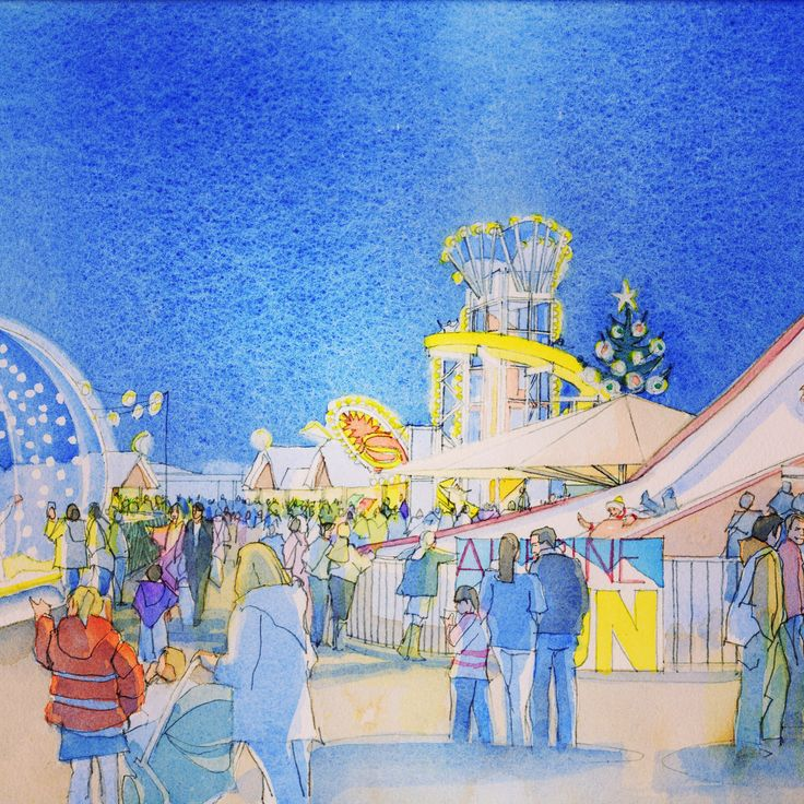 Winter Wonderland Chester at Chester Racecourse