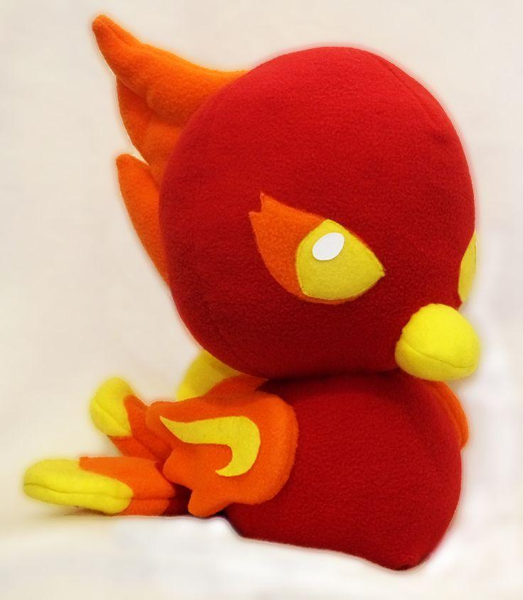 Phoenix Plush from the pattern by Sew Desu Ne