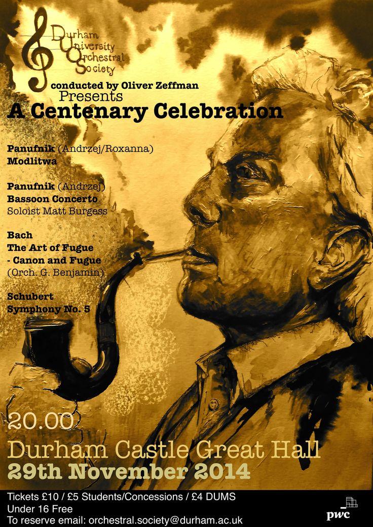Chamber Orchestra Poster - Panufnik Centenary celebration