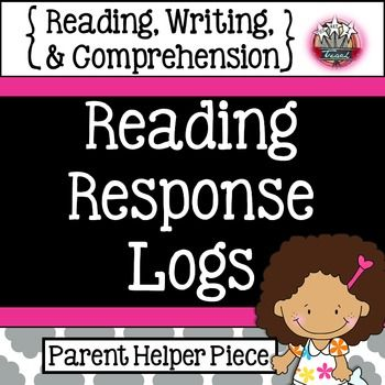 Reading Response Logs   Reading, Writing, Comprehension  K