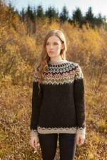 Mönster - JUBILEUM - Isländsk stickad tröja i Lettlopi- GRATIS