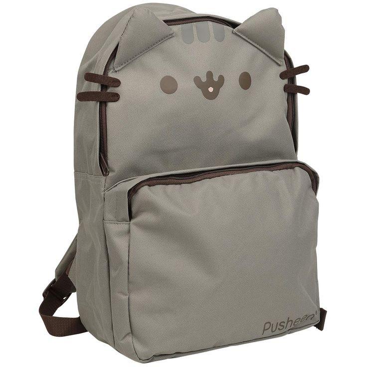 Sac à dos Pusheen  - sac à dos avec oreilles de chat et moustaches - grand…