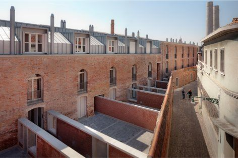 """The project is part of a plan to revitalise a former industrial site, """" the Conterie"""" ( small beads), on the island of Murano. Also known as the island of glass, Murano forms part of the Venetian lagoon. The Conterie were a..."""