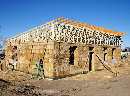 how to build a straw bale house step by step - Google Search