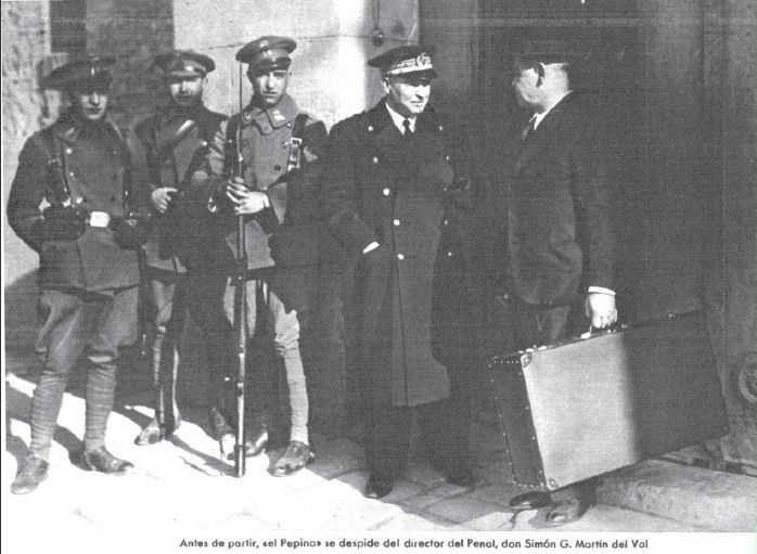 Uniformidad Civil – Funcionarios de Prisiones, P- director penal 1936