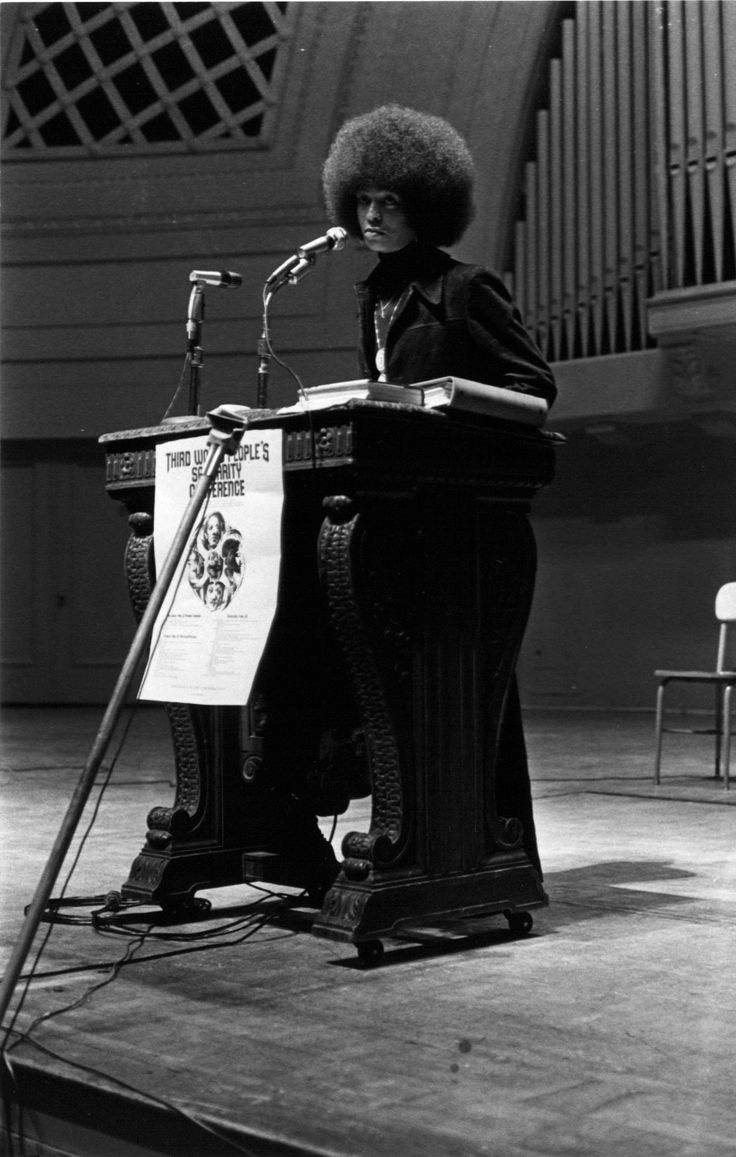 Angela Y. Davis à l'Université du Michigan