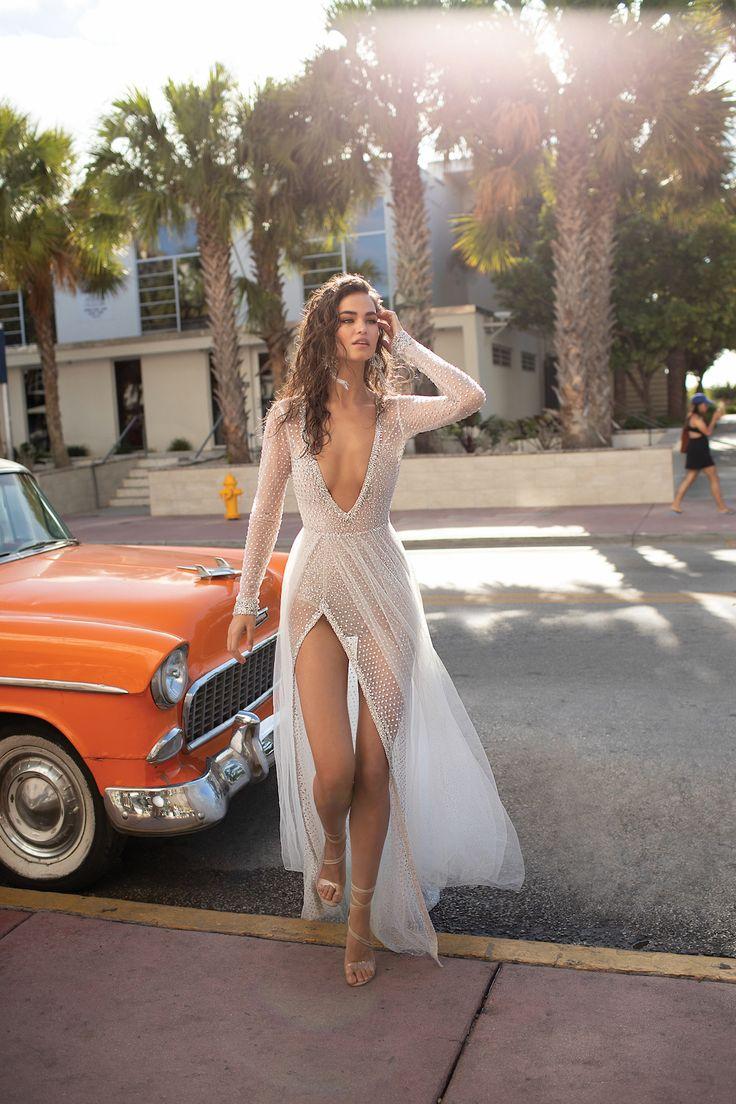 Miami Vice: Berta Wedding Dresses Spring/Summer 2019 | OneFabDay.com