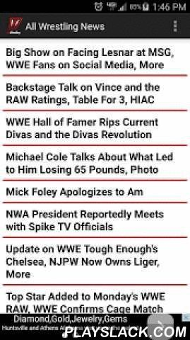 All Wrestling  Android App  playslack.com  WWE News Spoilers Rumors and Opin