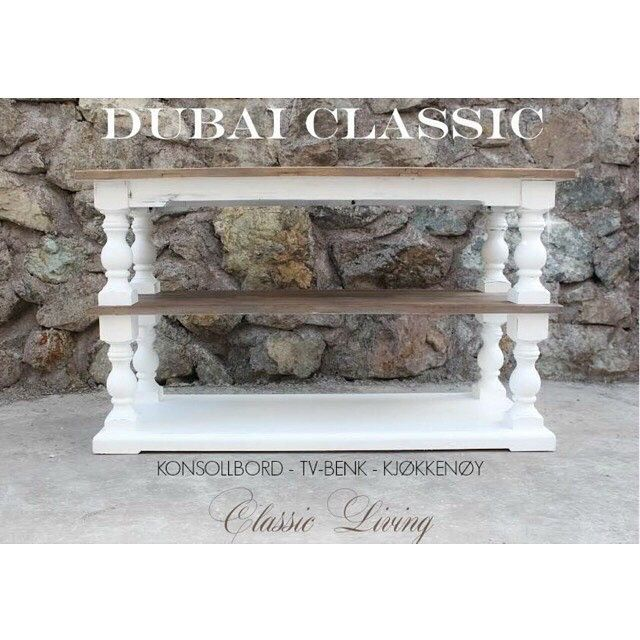 Dubai Classic (drivved & hvit)