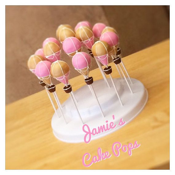 Hot Air Balloon Cake Pops by JamiesCakePops on Etsy