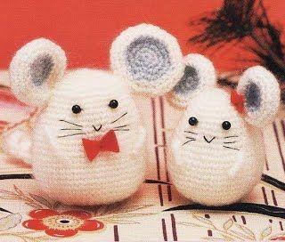 Мышка Норушка - Амигуруми