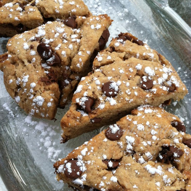 Whole Wheat Chocolate Chip Scone Recipe