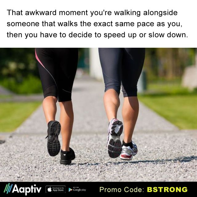 Lucky for you there's over 100 walking & running classes for any speed via the Aaptiv mobile app.  Personal Trainer's available on-demand 24/7. A fraction of the cost of a personal trainer at the gym and great playlists too! Get FREE 30 Days of Unlimited Access (a $9.99 value) when you use promo code: BSTRONG ...and get moving!