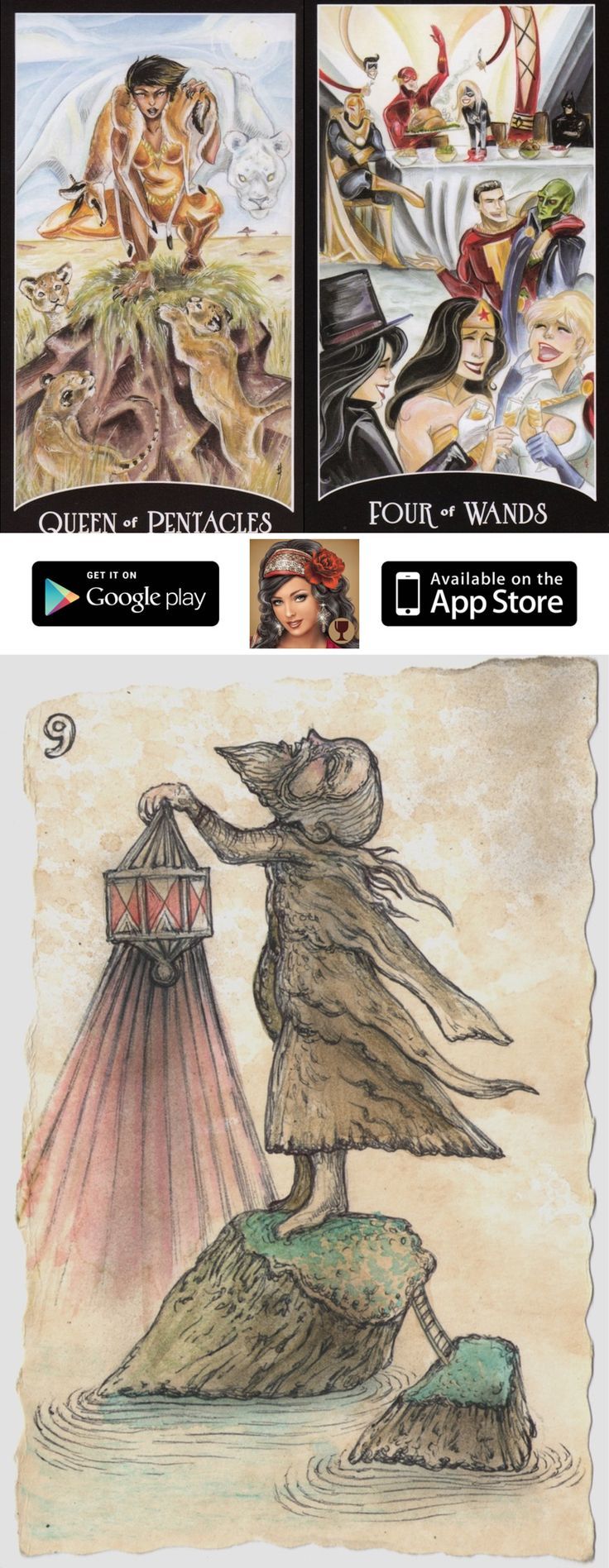 ✯ Install this free mobile application on your iOS and Android device and enjoy. instant tarot, tarot cards and book sets and margaret wells tarot, tarot card suits and tarot psychic. New tarot reading for beginners and fortune telling cards. #fool #theworld #tarotspread #iosapp #tarotart #tattoo