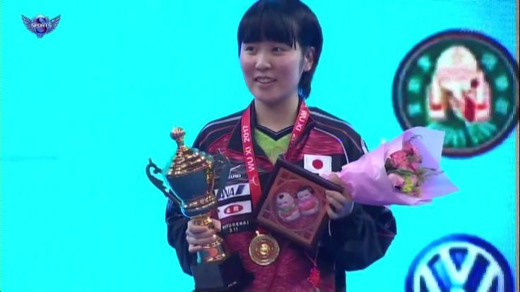 平野美宇 vs 陳夢(中国)【卓球】アジア選手権 女子シングル決勝