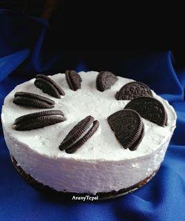 AranyTepsi: Oreo torta sütés nélkül